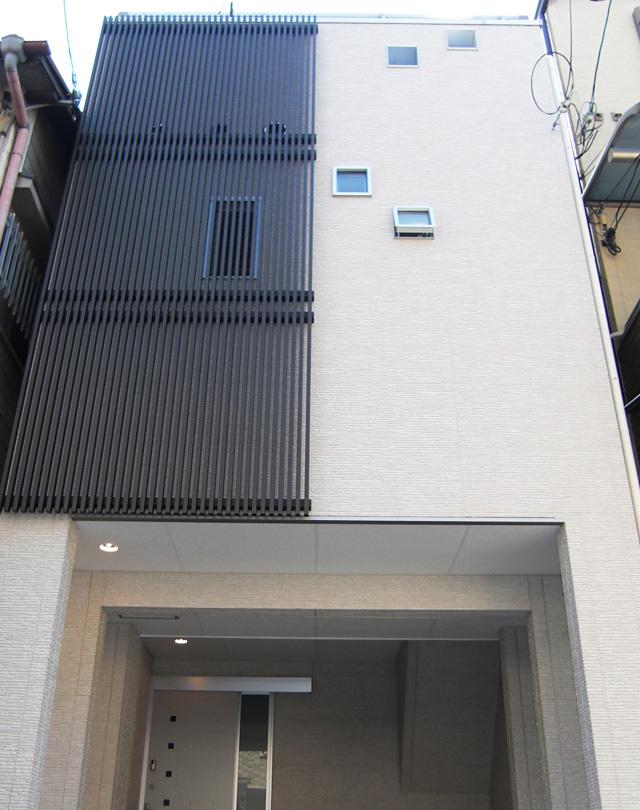 2間間口の狭小住宅で3世代同居の家づくり