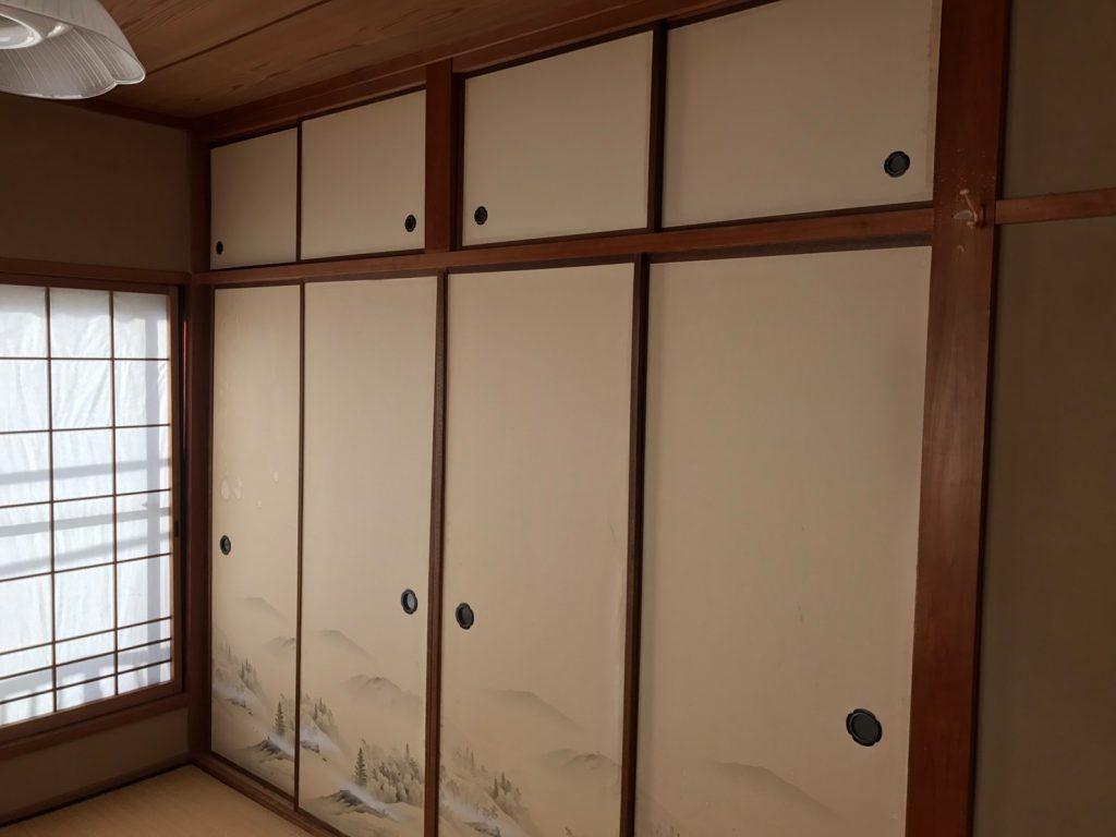 大阪市和室のリフォーム-ビフォアー