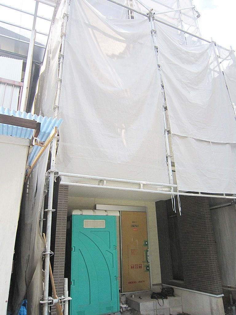 八尾市内狭小住宅建築