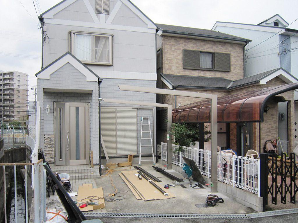 堺市内エクステリア工事