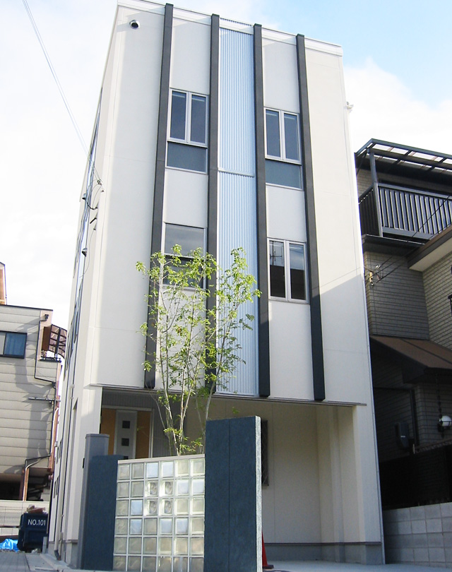 和空間のシンプルモダン住宅